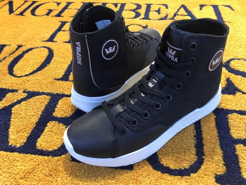 【SUPRA footwear】STATIK (BLACK-BONE)