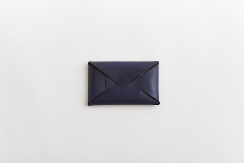 i ro se SEAMLESS CARD CASE  INDIGO
