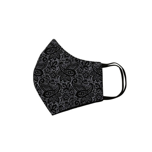 Relco London | Mask - Black Paisley