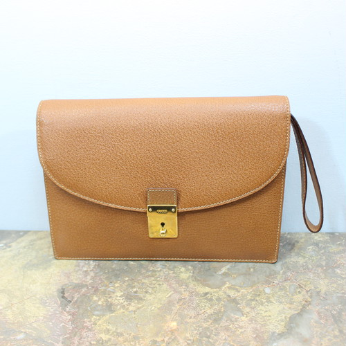 .GUCCI LEATHER CLUTCH BAG MADE IN ITALY/グッチレザークラッチバッグ 2000000033174