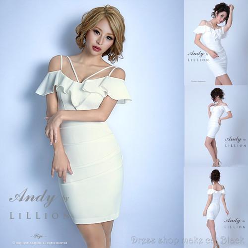 人気の為再入荷(Sサイズ) ミニドレス ¥23,544- (税込) キャバドレス ドレス パーティードレス  ANR-OK1595 LiLLion