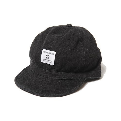 "VIRGO / ヴァルゴ | "" WASHED BALL CAP "" - Black -"