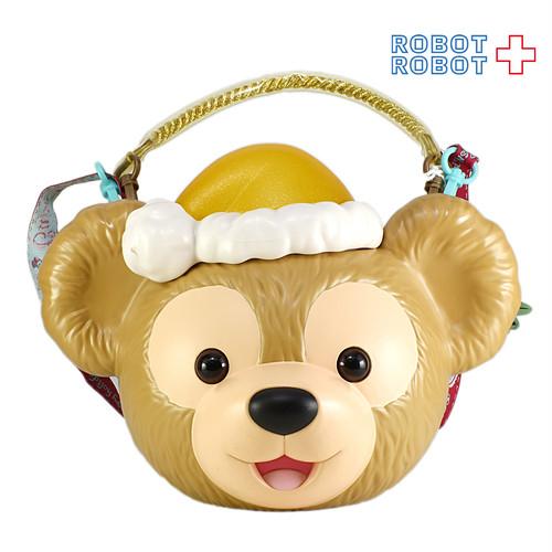 ダッフィー クリスマス ポップコーンバケット 黄色 東京ディズニーシー TDS