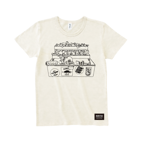 BURITSU BOX Tee : White