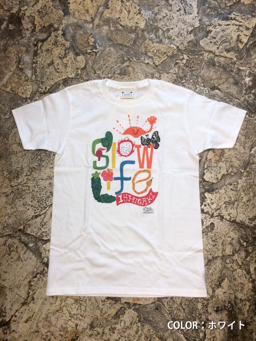 オリジナルTシャツ「Slow Life」大人用