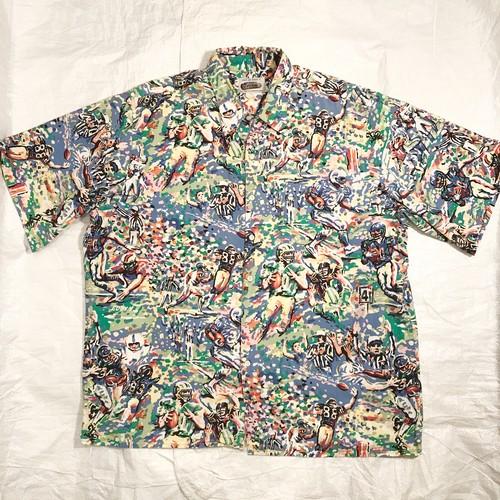 【REYN SPOONER】レインスプーナー アロハシャツ Made in Hawaii