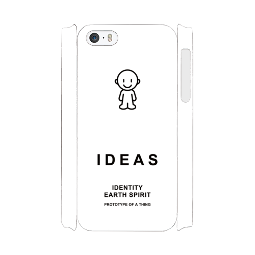 IDEAS/iPhone5/5s/SEケース 800-ホワイト