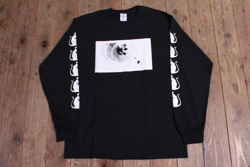 BR LONG SLEEVE T-SHIRT BLK/WHT