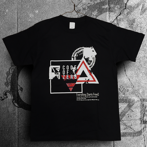 【新色登場】Over The Limit Tシャツ BLACK×RED