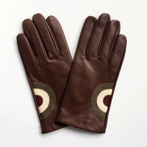 Frederick Sheppard | Mod Target Leather Gloves - Brown