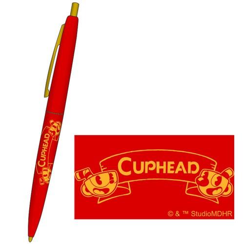 CUPHEAD ( カップヘッド ) BICボールペン ①レッド / エンスカイ