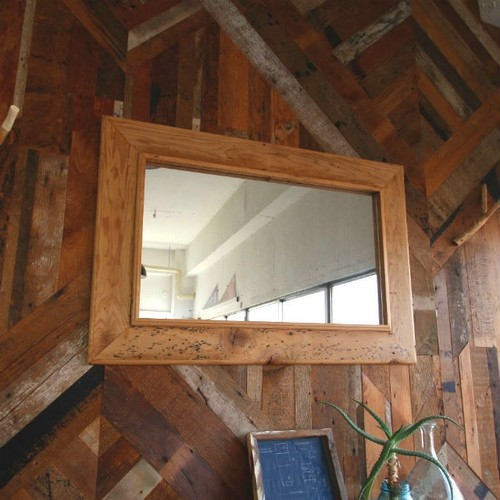 - One of a Kind -  Reclaimed Mirror