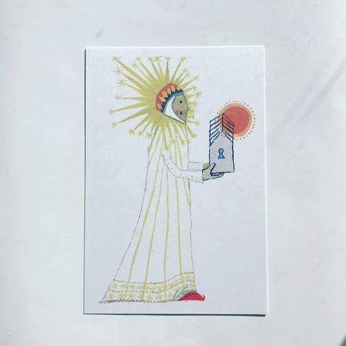 ポストカード「夜から朝へ」