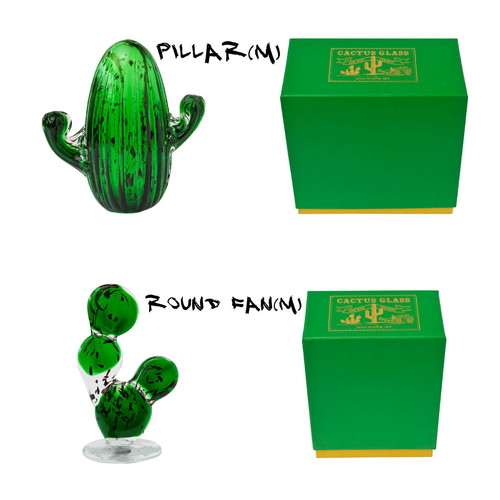 amabro / CACTUS GLASS ORNAMENT (M)