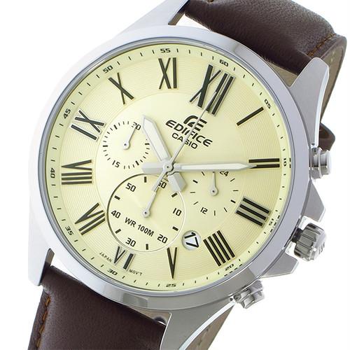 カシオ CASIO エディフィス EDIFICE クオーツ メンズ 腕時計 EFV-500L-7AV ゴールド ゴールド