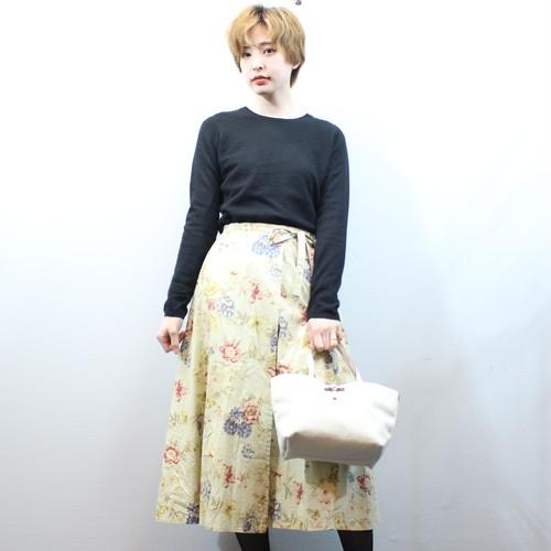 .BURBERRYS FLORAL PATTERNED SKIRT/バーバリーズ花柄スカート 2000000029450