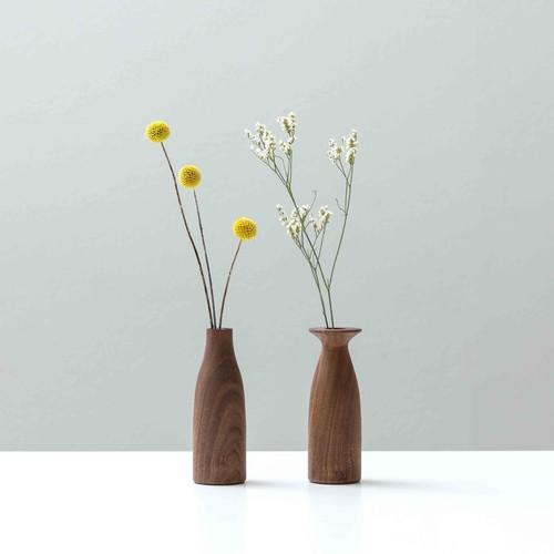 バレリーナ/ウォルナット flower vase 003.  eNproduct