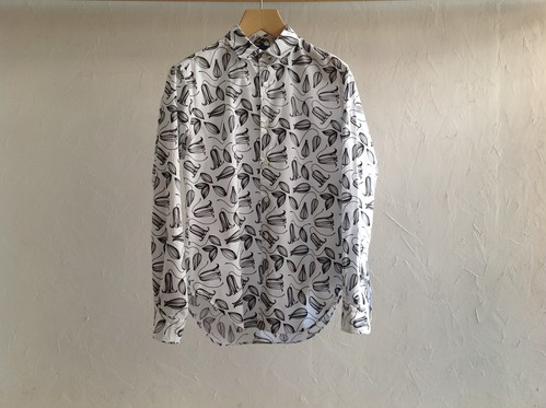 "semoh "" round collar shirt """