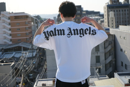 PALM ANGELS / CLASSIC LOGO OVER TEE