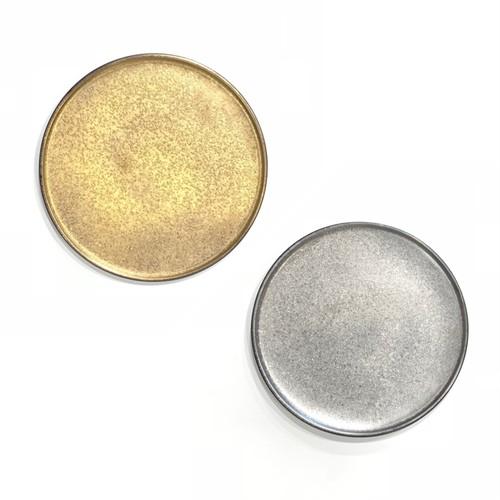 金・銀  フラットプレート M