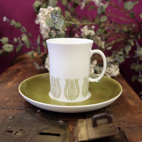"""Mosa Maarstricht"" 60's Vintage named『Gracia』Cup&Saucer   [CCV-41]"
