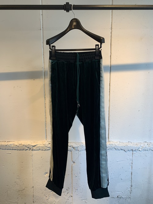 NEONSIGN   VELOR JERSEY PANTS