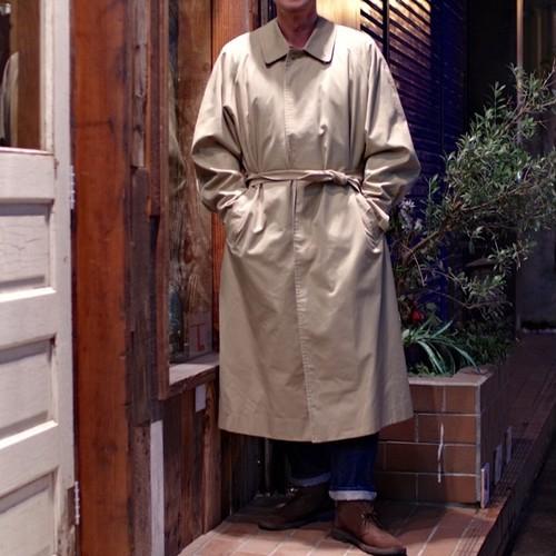 1980 ~ 90s Burberry's Belted Single Coat / 42 X-LONG !! バーバリー バルマカーン コート