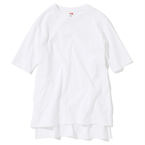 LONG TEE  (HEAVY WEIGHT) - WHITE