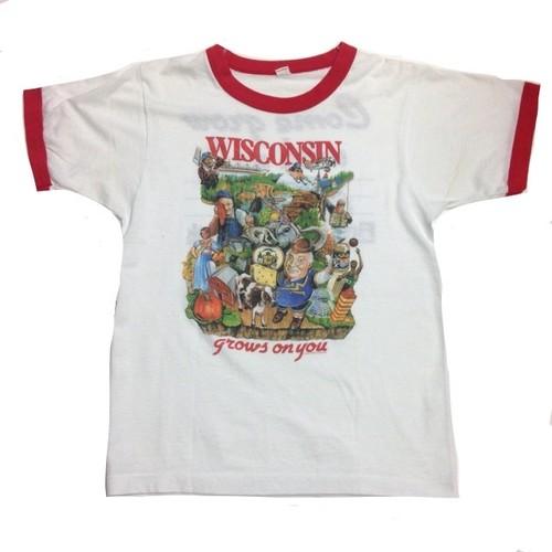 Tシャツ/Wisconsin  【古着】