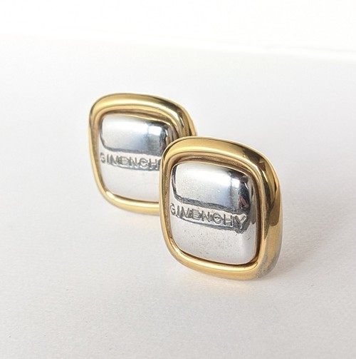 vintage earrings -GIVENCHY-