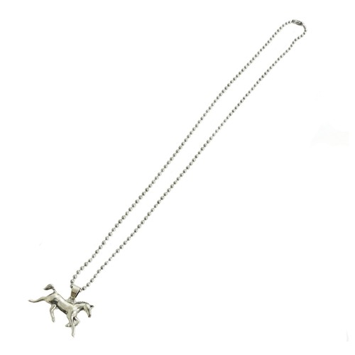 Horse SilverNecklace
