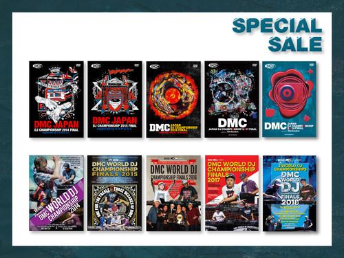 DMC JAPAN 2018〜2014 DVD + DMC WORLD 2018〜2014 DVD 10本セット