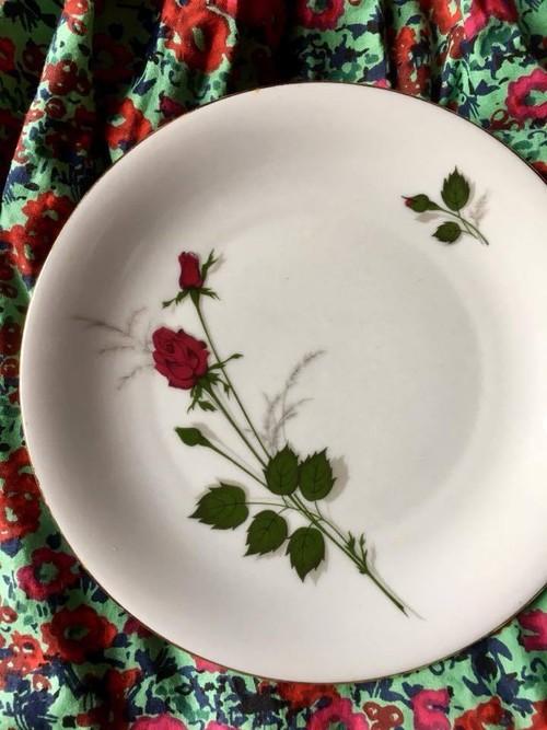 ドイツ ローズ ケーキプレート 薔薇 プレート