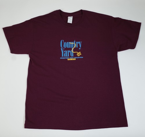 Greatest Not Vacation Tour T-shirts Burgundy
