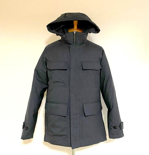Solotex T/W M-65 Type Hooded Down Jacket Charcoal