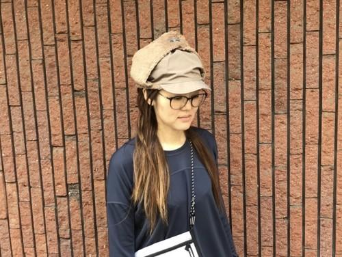 【and wander】high loft fleece cap