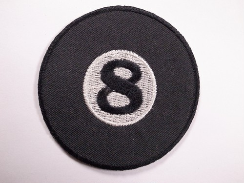 "OLD PATCH""8 BALL"""