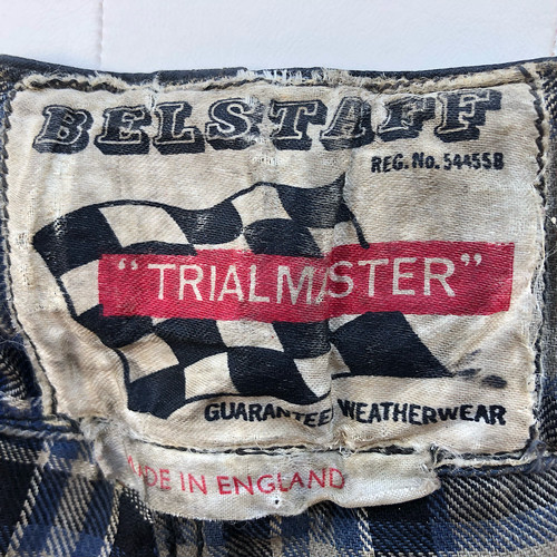 1950s Belstaff Trialmaster Wax Cotton Trousers Made In England