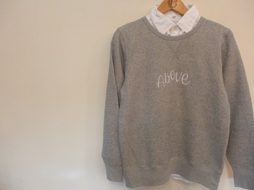 a look on books sweat trainer <above>