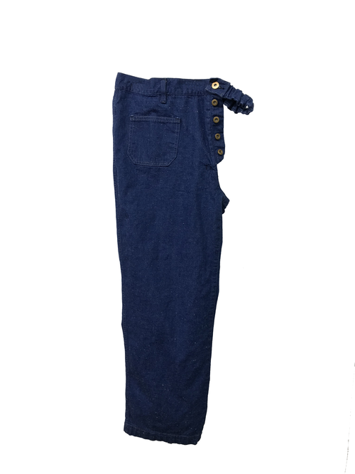 【No. BS807-R】 Unisex Docking Work Pants-Right