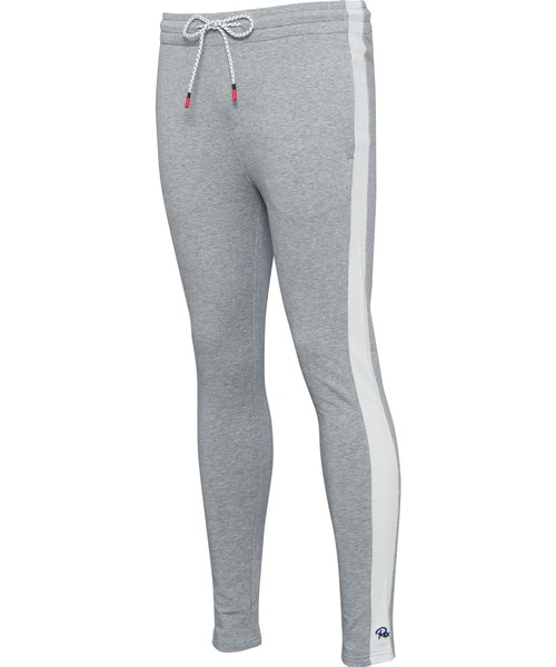 SIDE LINE SKINNY SWEAT PANTS[REP065]