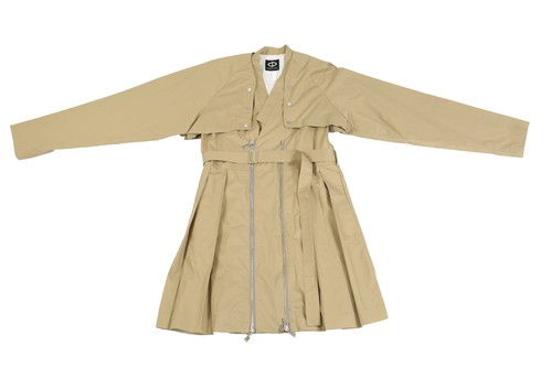 Docking Trench Coat (Beige)