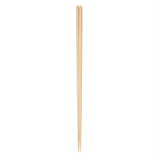 白竹無垢菜箸33(無塗装) 【47-100】