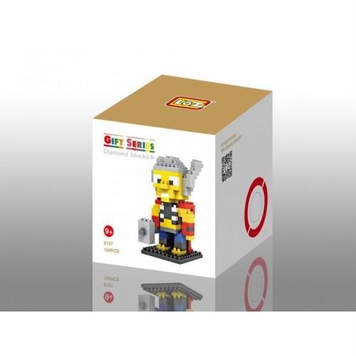 LOZ 9157 ダイヤモンドブロックス マイティ・ソー / Diamond blocks Thor 1個/150pcs
