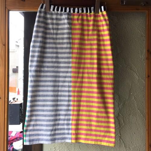 Vintage marimekko カラフルボーダースカート