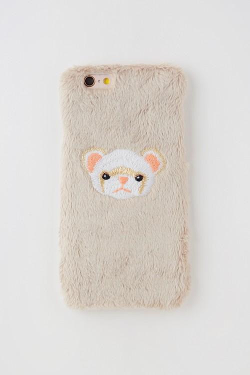 【iPhone6専用】フェレットiPhoneハードケース【シナモン】