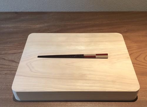 市松箸(朱)