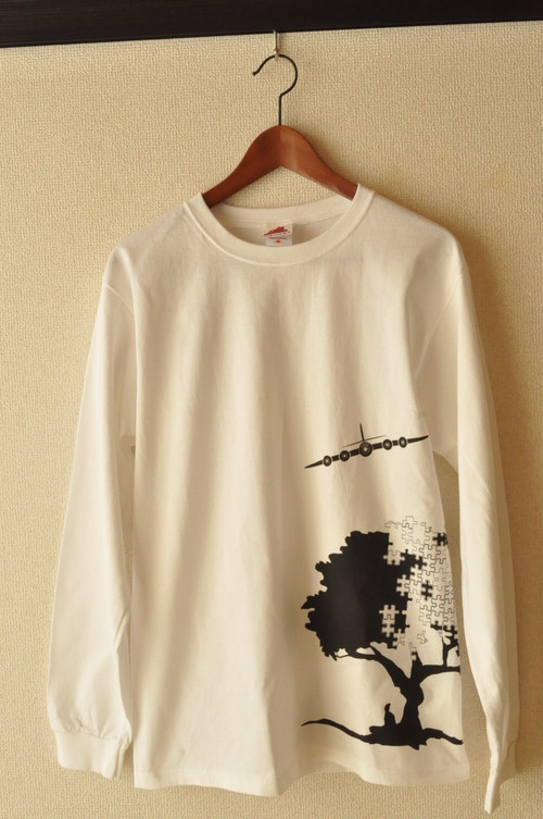 Piece to Peaces(White LongTshirts)