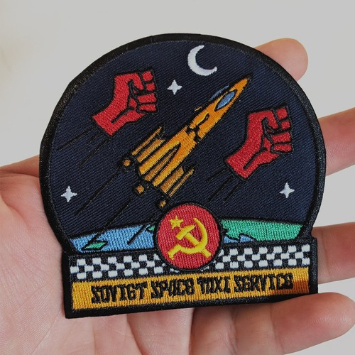 """MajorCrimesDivision""""Soviet Space Taxi Service patch"""""""