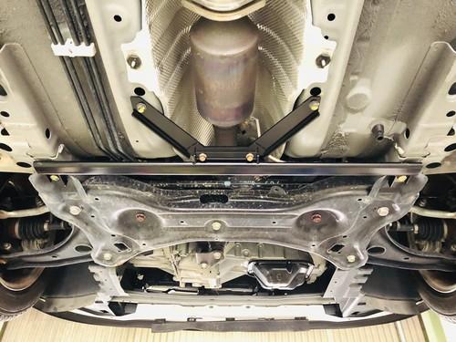 K13改/E12改『車高短フロントロアブレース+車高短トンネルブラケット』セット(キャンペーン対象)